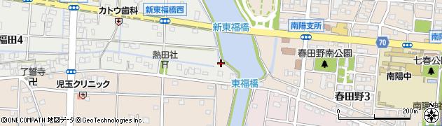愛知県名古屋市港区南陽町大字西福田周辺の地図