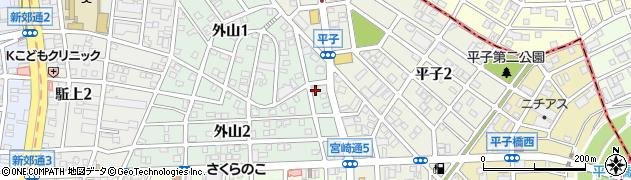 オルオル周辺の地図
