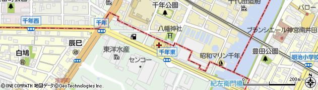 丸忠寿司丸忠 フィールちとせ店周辺の地図