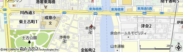 おかめ周辺の地図