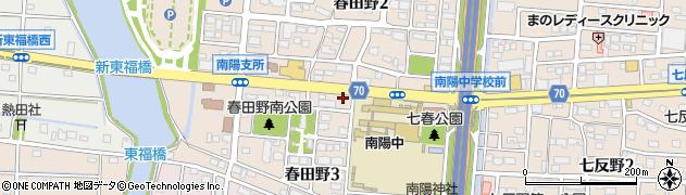 ほっともっと港区南陽店周辺の地図
