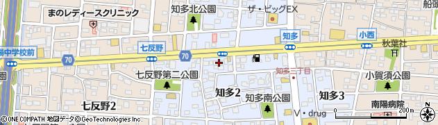 あかさか周辺の地図