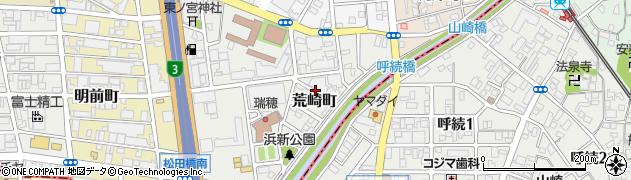 愛知県名古屋市瑞穂区荒崎町周辺の地図