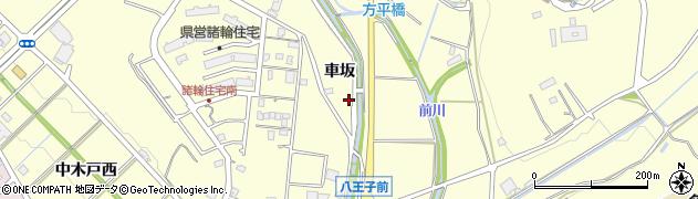 愛知県愛知郡東郷町諸輪車坂周辺の地図