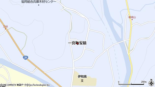 〒671-4131 兵庫県宍粟市一宮町安積の地図