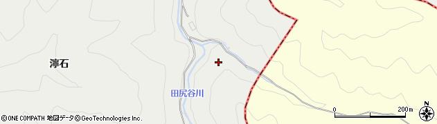 京都府京都市右京区京北細野町(二ツ橋)周辺の地図