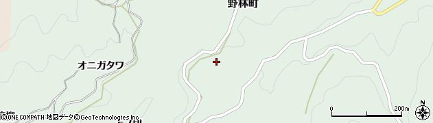 愛知県豊田市野林町(中ノ切)周辺の地図
