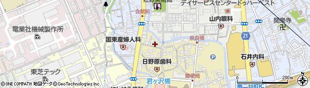 ほのぼの周辺の地図