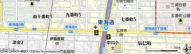 スナック花門周辺の地図