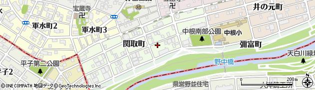 愛知県名古屋市瑞穂区関取町周辺の地図