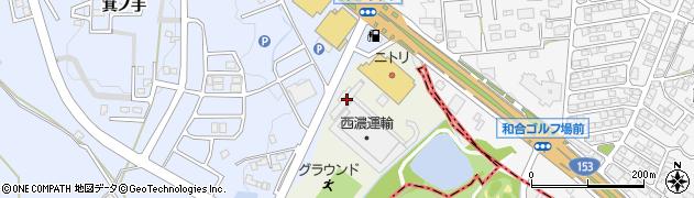 愛知県日進市浅田町(美濃輪)周辺の地図