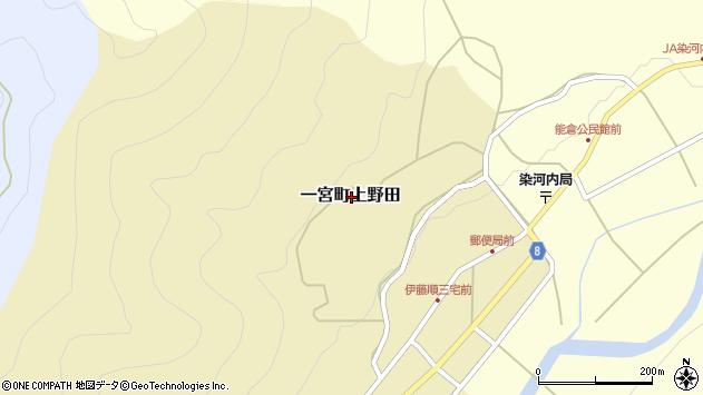 〒671-4143 兵庫県宍粟市一宮町上野田の地図