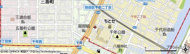 上京周辺の地図