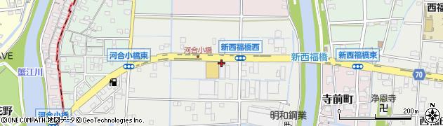 愛知県名古屋市港区六軒家周辺の地図