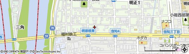 ゆうなぎ周辺の地図