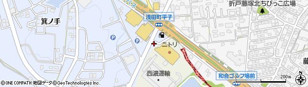 愛知県日進市赤池町(箕ノ手)周辺の地図