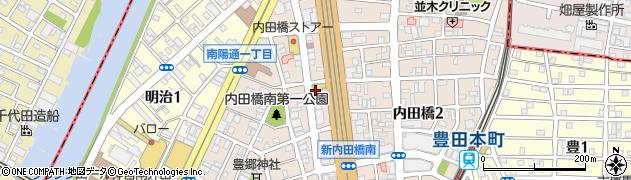 中国料理西安飯荘周辺の地図