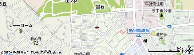 愛知県名古屋市天白区大根町周辺の地図
