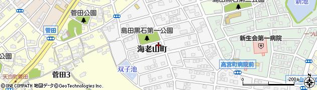 愛知県名古屋市天白区海老山町周辺の地図