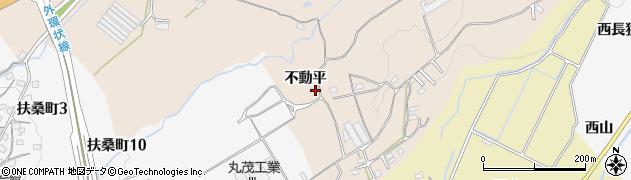 愛知県豊田市勘八町(不動平)周辺の地図