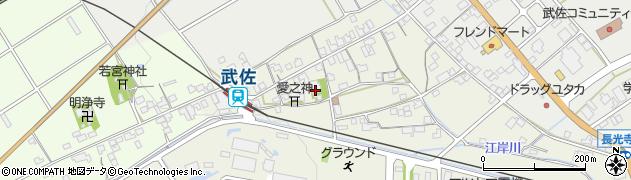 法性寺周辺の地図