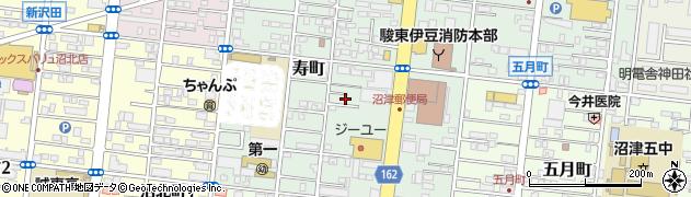 静岡県沼津市寿町周辺の地図