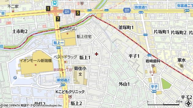 愛知県名古屋市南区駈上 郵便番号 〒457-0007:マピオン郵便番号