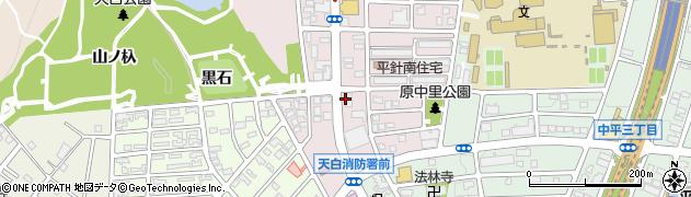 花水木周辺の地図