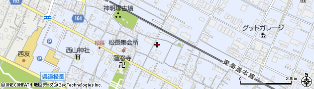 静岡県沼津市松長周辺の地図