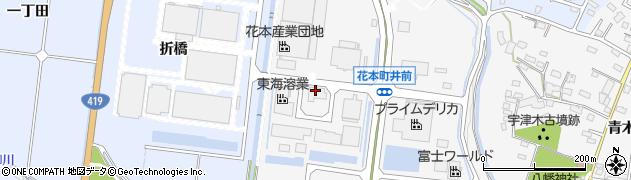 ヨシケイ愛知支社周辺の地図
