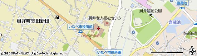 三重県いなべ市周辺の地図