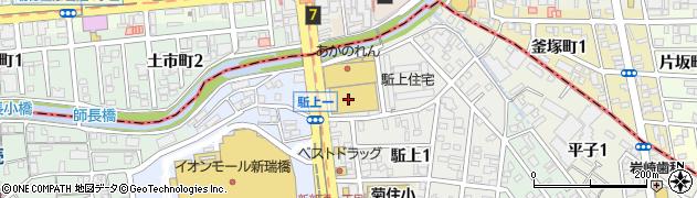 太閤堂 ピアゴアラタマ店周辺の地図