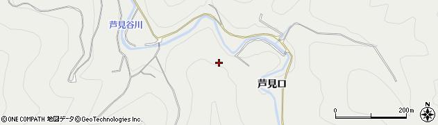 京都府京都市右京区京北細野町(矢ノ原)周辺の地図