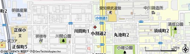 キャッツカフェ港店周辺の地図