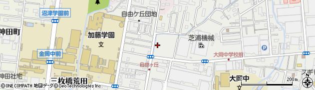 東芝機械アパート周辺の地図