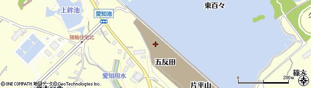 愛知県愛知郡東郷町諸輪五反田周辺の地図