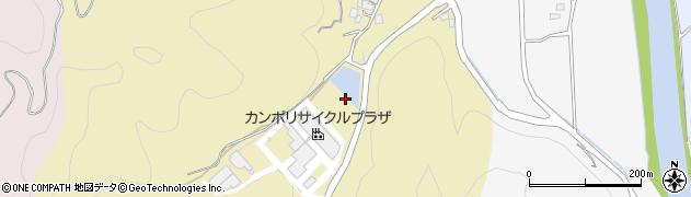 京都府南丹市園部町高屋(西谷)周辺の地図