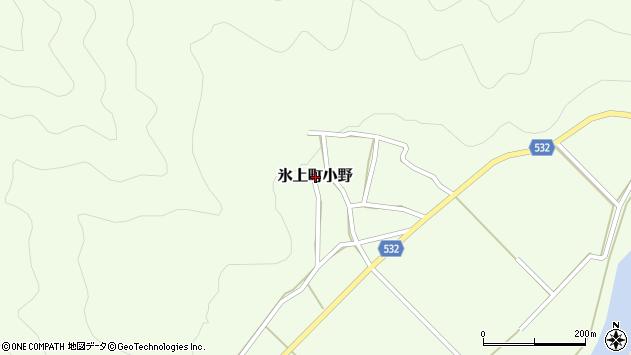 〒669-3575 兵庫県丹波市氷上町小野の地図