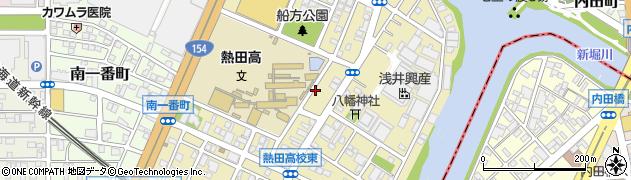 愛知県名古屋市熱田区千年周辺の地図