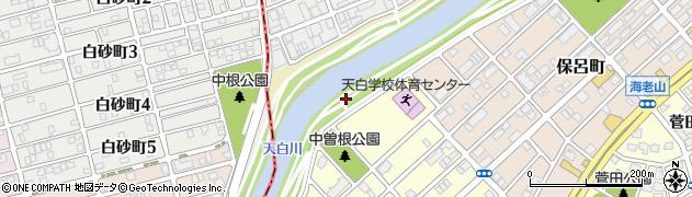 愛知県名古屋市天白区天白町大字島田(中曽根)周辺の地図