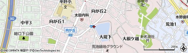 愛知県名古屋市天白区天白町大字平針(大堤下)周辺の地図