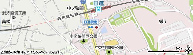 スナック椿周辺の地図