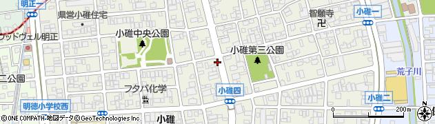 愛知県名古屋市港区小碓周辺の地図