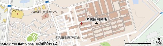愛知県みよし市ひばりヶ丘周辺の地図