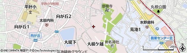 愛知県名古屋市天白区天白町大字平針(大根ケ越)周辺の地図