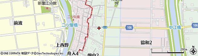 愛知県名古屋市港区畑中周辺の地図