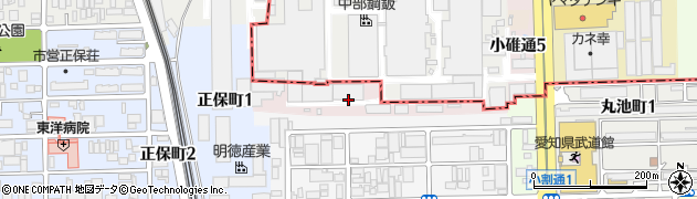 愛知県名古屋市港区明徳町周辺の地図