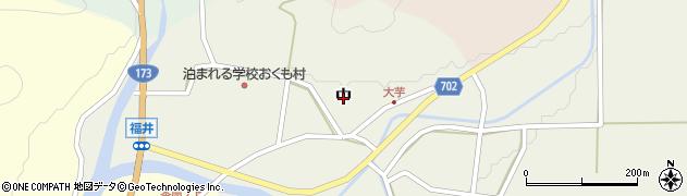 兵庫県丹波篠山市中周辺の地図