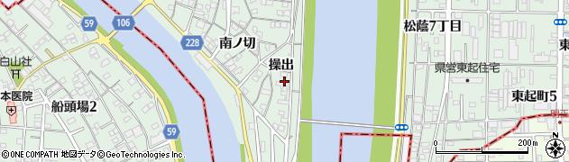 愛知県名古屋市中川区下之一色町(操出)周辺の地図