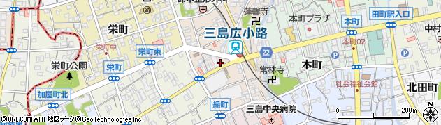 ヴィヴィドパオ(Vividopao)三島広小路店周辺の地図
